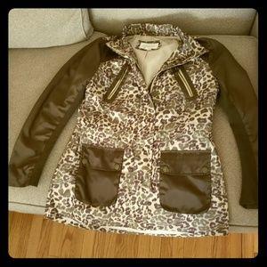 BCBG trench style coat